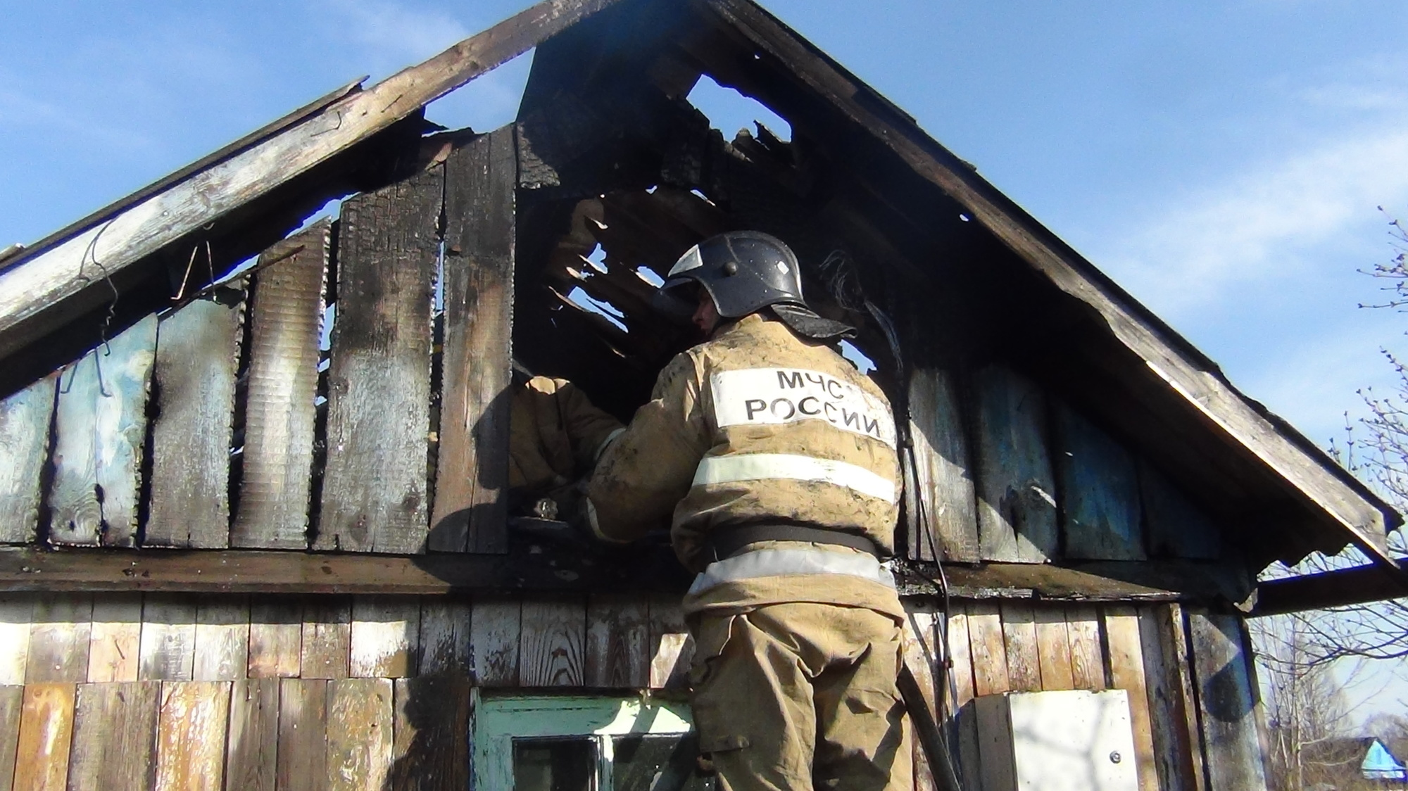 Трагедией закончился пожар в частном доме в с. Даниловка