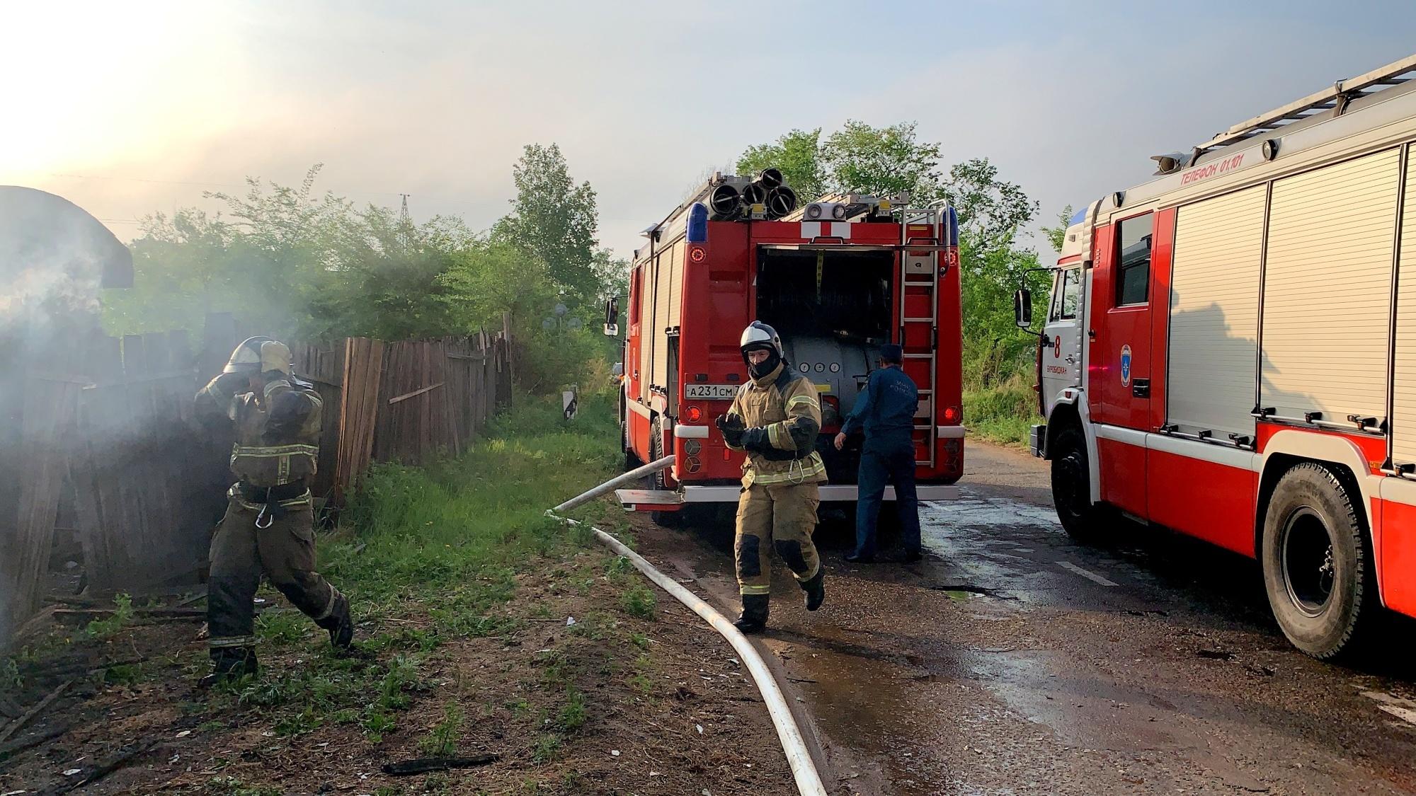 Очередные поджоги расследуют пожарные инспекторы в Облученском и Биробиджанском районах